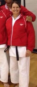 Sensei Holly Damico is an instructor for both the Lafayette Karate Club and the UL Karate Club.