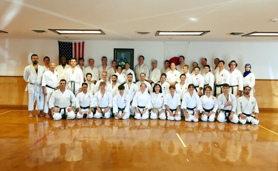 JKA AF End of Year Training with Legend Mikami Sensei